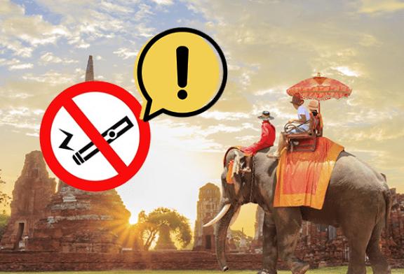 Vapoter en Thailand et vous allez en prison : pourquoi