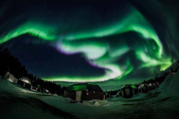 Une compagnie aerienne propose un vol pour observer les aurores australes pendant 4 heures